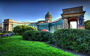 Picture Saint Petersburg, Cathedral, architecture, Kazan
