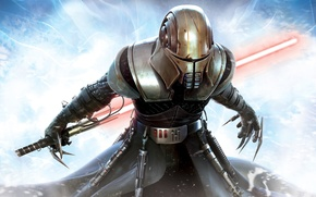 Picture mask, Star Wars, Star wars, Lightsaber, The power of the unbridled, The Force Unleashed