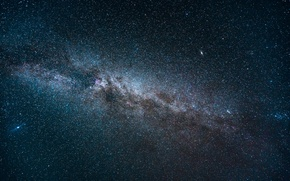 Picture space, stars, night, the milky way, infinity