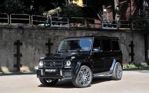 Picture W463, 2015, Mercedes-Benz, Brabus, g, BRABUS, black, Black, G 850, Mercedes, G-Class, Gelandewagen