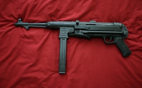 Picture weapons, war, the gun, world, Second, times, MP 40