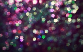 Wallpaper bokeh, lights, glow