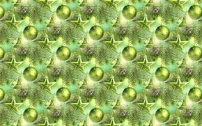 Wallpaper balls, background, holiday, balls, texture, stars, New year, herringbone
