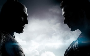 Picture clouds, the opposition, mask, Heroes, costume, Batman, Superman, Ben Affleck, chin, Clark Kent, Bruce Wayne, ...