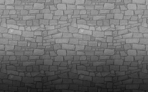 Picture grey, wall, stone, texture, wall