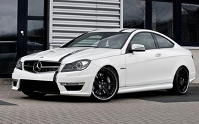 Picture Mercedes-Benz, AMG, Coupe, Wheelsandmore, C63, Edition