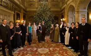 Picture Christmas, the series, actors, drama, characters, Downton Abbey