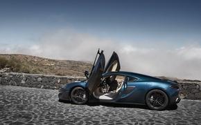 Picture car, machine, McLaren, door, supercar, supercar, open, McLaren, 570GT