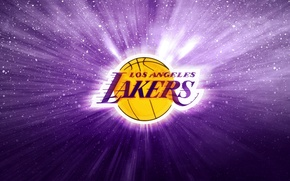Picture Basketball, Background, Logo, Purple, NBA, Los Angeles, Los Angeles Lakers