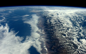 Picture space, surface, mountains, planet, Earth, Andes