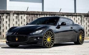 Picture Maserati, GranTurismo, Vossen, VFS2, wheels.
