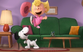 Picture Beagle, Snoopy, The Peanuts, Woodstock