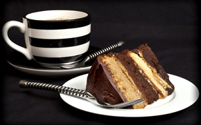 Picture coffee, food, Cup, sweets, cake, cake, dessert, food, chocolate, chocolate, glaze, dessert