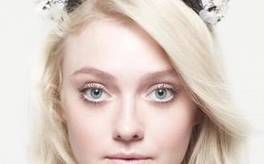 Picture actress, blonde, Dakota Fanning