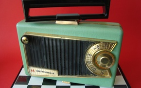 Picture background, radio, receiver