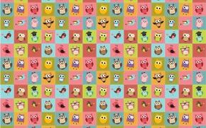Picture background, bird, children's