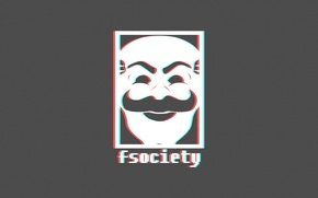 Picture Wallpaper, Minimalism, Fsociety