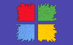 Picture computer, color, emblem, windows, the volume, hi-tech, operating system