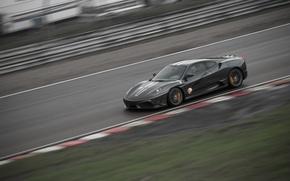 Picture speed, track, ferrari f430