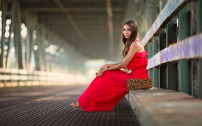 Picture in red, Red Dress, Fashion Photography