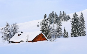 Picture snow, winter, white, sky, scenery, cool, snow, nature, house, winter, house, nice, the sky, beautiful, …