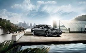 Picture BMW, BMW, sedan, F10, 2015, 5-Series