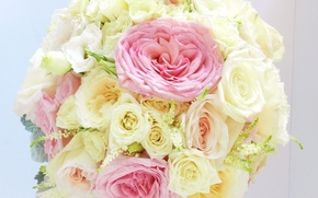 Picture flowers, photo, roses, anemones, bouquets