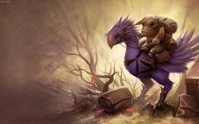 Picture fantasy, rendering, the game, art, Randis Albion, final fantasy goblin