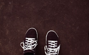Picture feet, sneakers, texture