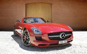Picture Mercedes, Benz, SLS