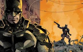 Picture Batman, Batman, cover, DC Comics, Arkham Knight, Arkham Knight