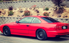 Picture Red, BMW, BMW, Red, E31, 1997, 850ci