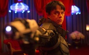 Picture cinema, gun, blood, weapon, man, boy, sci-fi, movie, series, blond, film, rifle, armour, TV series, …