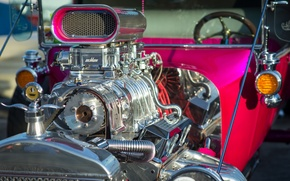 Wallpaper 1923, hot-rod, engine, Ford