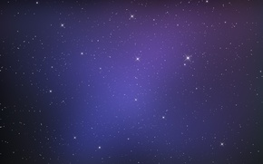 Picture space, stars, lights, glare, space, stars, 2560x1600