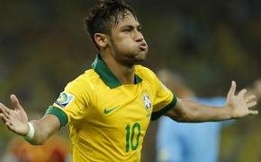 Picture Brazil, Neymar, soccer player