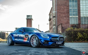 Picture Mercedes-Benz, AMG, Prior Design, GTS, Vossen, Wheels