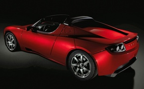 Picture Roadster, convertible, Tesla
