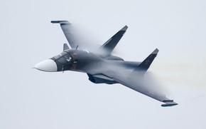 Picture the sky, The plane, Bomber, Su-34, Frontline, Vladislav Perminov