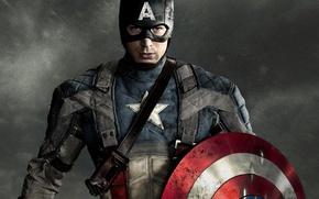 Wallpaper captain America, shield, Chris Evans, captain america, first avenger, the first avenger