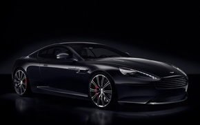Picture Aston Martin, DB9, the front, Aston Martin, ДБ9, Carbon Black