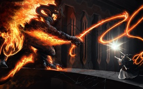Picture The Lord Of The Rings, Balrog, The Lord of the Rings, Moriya, Gandalf The Grey, …