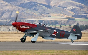 Picture collection, the plane, As-3M, Yak-3UA, military, times, private, developer, retro., the second world war, Yakovlev, ...