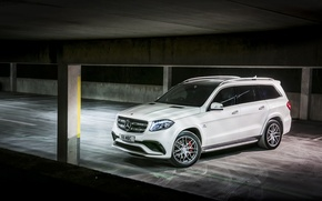 Wallpaper AMG, X166, Mercedes-Benz, GLS-Class, Mercedes