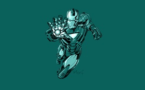 Picture iron man, Marvel, Iron man