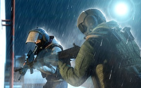 Picture weapons, helmet, special forces, siege, Tom Clancy's, Rainbow Six: Siege