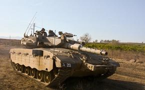 Picture tank, combat, main, Merkava, Israel, Mk III