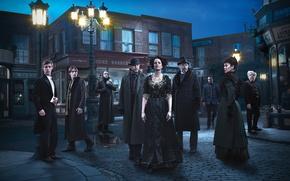 Picture city, dress, woman, man, hotel, London, American, Josh Hartnett, witch, cowboy, Timothy Dalton, HBO, tv …