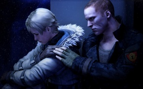 Picture biohazard, Resident evil, Resident Evil 6, Sherry Birkin, Jake Muller, Jake Muller, sherry Birkin