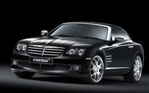 Picture Chrysler, Black, Convertible, Startech Design, Crossfire